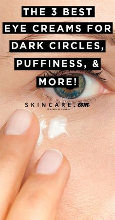 Ever wonder how beauty editors get rid of dark circles, puffy under-eye bags, an. - Makeup Tips For Dark Circles Eye Cream For Dark Circles, Dark Circles Under Eyes, Tips And Tricks, Makeup Tricks, Makeup Ideas, Makeup Designs, Concealer, Glow Skin, Dry Eyes Causes