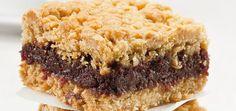 Date Squares (the best) Recipes Dessert Ricardo, Bon Dessert, Dessert Bars, My Recipes, Favorite Recipes, Cookie Recipes, Recipies, Date Squares, Sweets