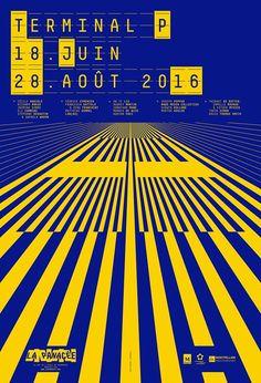 Superscript², Exhibition poster for La Panacée, 2016