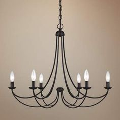 "Quoizel Mirren 28"" Wide Imperial Bronze Chandelier"