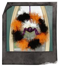 Whimsy Lane Crafts: Tulle Halloween Wreath