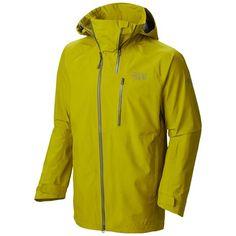 Mountain Hardwear Minalist Dry.Q® Elite Jacket - Waterproof (For Men) in Python Green