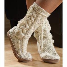 Tweed Sock Slipper knitting kit — CA$17.49     Mary Maxim