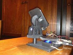 Thing files for Dual Axis Solar Tracker by OpenSourceClassroom - Thingiverse