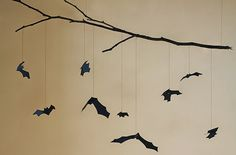 Oh So Lovely: BAT MOBILE // DIY HALLOWEEN DECOR
