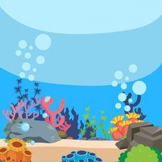 Shark Background, Underwater Background, Kids Background, Background Clipart, Wallpaper Powerpoint, Background Powerpoint, Pirate Box, Cartoon Sea Animals, Aesthetic Fonts