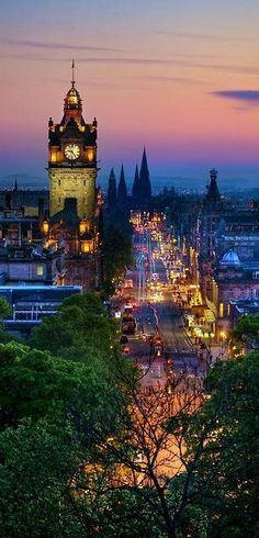Edinburgh, Scotland where I live, where I've been raised, where I was born and where my heart will always be!