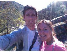 Emilio y Fátima desde el Parque Nacional de Monfragüe