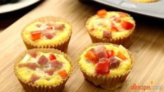Paleo Omelet Muffins Video