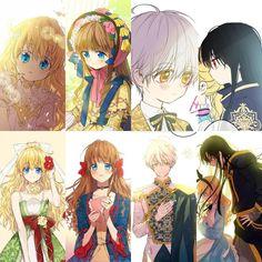 Manga Story, Disney Phone Wallpaper, Princess Art, Aesthetic Stickers, Beautiful Anime Girl, Webtoon, Anime Couples, Love Story, Anime Art