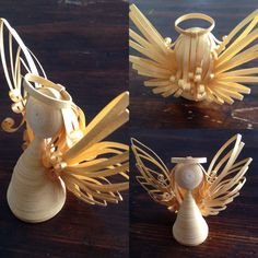 Paper Quilled Angel by ElinaQuills