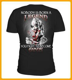 WOLF LEGEND BACK - Wolf shirts (*Partner-Link)