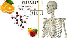 VITAMINA C este mai importantă pentru OASE decât CALCIUL - dr. Suzanne Humphries
