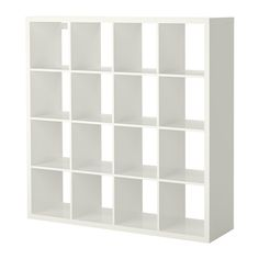 I want 2 of these............KALLAX Shelving unit, high-gloss white high-gloss white 147x147 cm