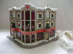 Hawthorne Village Coca Cola Christmas House Jingles Department Store Toys COA