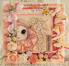 Something Beautiful By Julie: A Stitch Here and a Stitch There