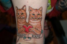 Not bad for upside down and behind the knee by Nurse Kitty Qat, via Flickr