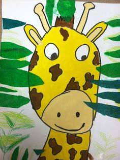 """My second grade art students had a great time learning about Henri Rousseau. We learned about his life and asked the question - """"How do arti..."""