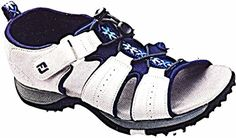 FootJoy Greenjoys Womens Sandal 48361 11 M GreyBlue *** You can get additional details at the image link. (This is an affiliate link) Womens Golf Shoes, Shoes Women, Amazon Associates, Ladies Golf, Best Brand, Me Too Shoes, Blue Grey, Fashion Shoes, Athletic Shoes