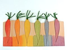 Wood color matching game Educational toy Carrots by pirondesign Learning Colors, Learning Toys, Waldorf Toys, Baby Toys, Kids Toys, Montessori Toys, Matching Games, Start Up Business, Backyard Farming