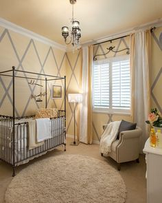 Love this baby room from Houzz