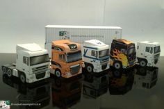 Paper models of DAF XF and DAF New XF Euro 6 from www.bouwplaatvanjeeigentruck.nl