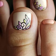 Sometimes fabulous nails are exactly that one last thing missing on the way to the creation of the unique look. Check out our ideas for your toes! Feet Nail Design, Pedicure Nail Designs, Pedicure Nail Art, Toe Nail Designs, Toe Nail Art, Pedicure Ideas, Pretty Toe Nails, Love Nails, Summer Toe Nails