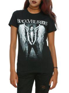 Black Veil Brides Andy Angel Girls T-Shirt