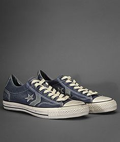 John Varvatos Converse.  I have these in black but I love the blue.