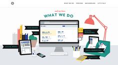 24 Flat Designs with Compelling Color Palettes