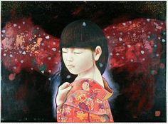 Kyosuke Chiinai  JUURI japanese + american artist: Lowbrow art or Pop Surrealism