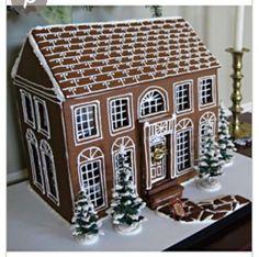 Lovely #gingerbread #house