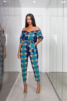 119 african print ashanti jumpsuit zuvaa - The world's most private search engine African Fashion Designers, African Fashion Ankara, African Inspired Fashion, Latest African Fashion Dresses, African Print Fashion, Africa Fashion, Modern African Fashion, Ghana Fashion Dresses, African Print Jumpsuit
