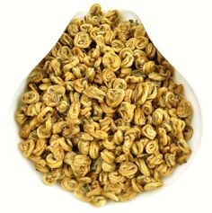 Imperial Pure Gold Bi Luo Chun Black Tea of Feng Qing * Spring 2018 - Yunnan Sourcing Tea Shop Pure Products, Spring, Gold, Black, Black People, Yellow