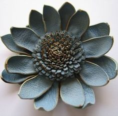 Leather Flowers (Inspiration Only)
