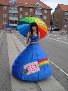 I thought it was a Rainbow Girl, then I counted the stripes.  Maybe one to re-create though.