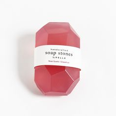 Rose Quartz + Grapefruit Soap Stone by Pelle Design Soap Colorants, Cheryl Blossom, Soapstone, Bar Soap, Soap Making, Bath Bombs, Grapefruit, Natural Skin Care, Body Care
