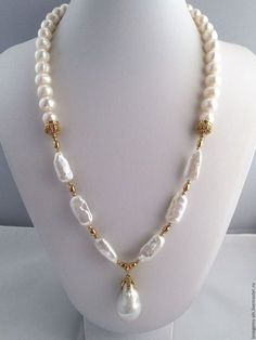 Kasumi pearl necklace with pendant