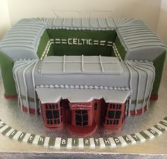 Created for 13th Birthday for John Celtic Football Cake