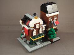 A Mini Modular version of my Dutch Irish Pub. Tomato Bread, Micro Lego, Amazing Lego Creations, Lego Modular, Pretty Cool, Legos, Minis, Dutch, Drawing