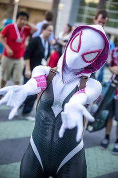 Spider-Gwen! Wondercon.