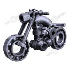 "Hand-Made Motorbike (4"") - Scrap Metal Sculpture. $24.99, via Etsy."