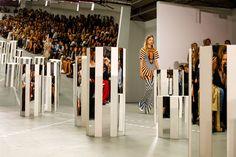 Mary Katrantzou Spring 2017 Ready-to-Wear Fashion Show Atmosphere