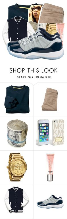 """""""Untitled #83"""" by urqueen247 ❤ liked on Polyvore featuring Hollister Co., MICHAEL Michael Kors, Nixon, Victoria's Secret and 21 Men"""