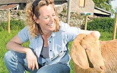 Kate Humble on her small holding and a woolly friend