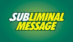この特徴的なフォントと色を目にするだけで、「Subway」のことを(知らず知らずのうちに沁み込んだサブリミナル効果で)想起しちゃうでしょ!』と、冗談で示唆するクリエイティブ
