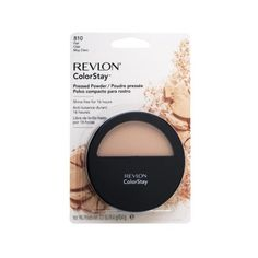 Revlon Colorstay Pressed Powder my fave pressed powder sofar! best used with the colorstay foundation and concealer