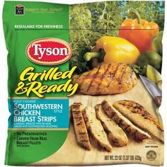 Tyson Grilled & Ready Frozen Products $0.75 Off!