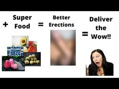 How To Get Full Erection 'Forever' Using This Super Food Increase Stamina, Wow Products, Superfoods, How To Get, Make It Yourself, Youtube, Super Foods