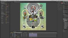 Animating a Photoshop Collage in After Effects with Alejandro Chavetta | Create